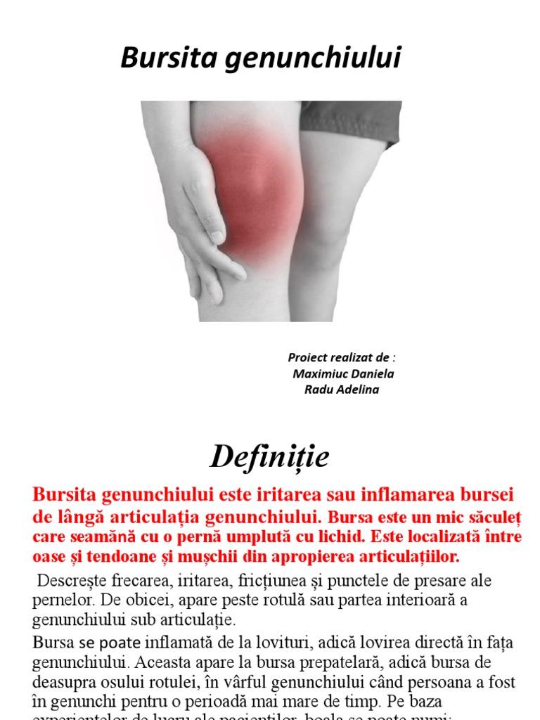 bursita tratament natural)