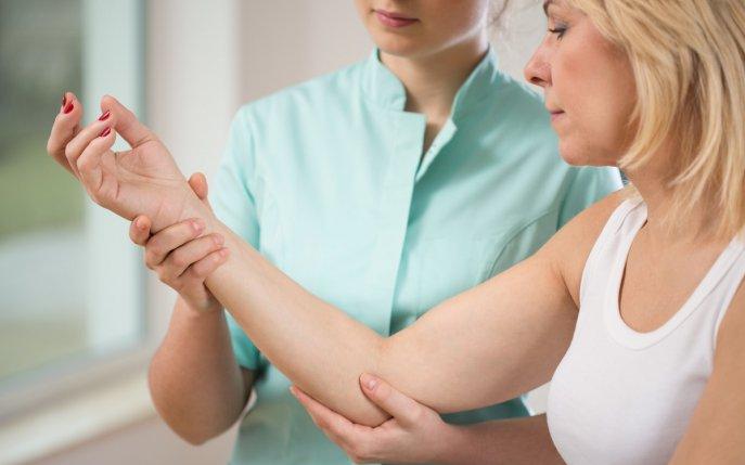 durere în articulația mâinii după antrenament