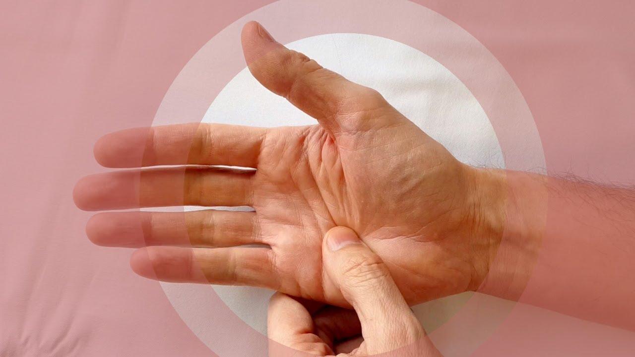 atunci când flexați un deget  articulația doare