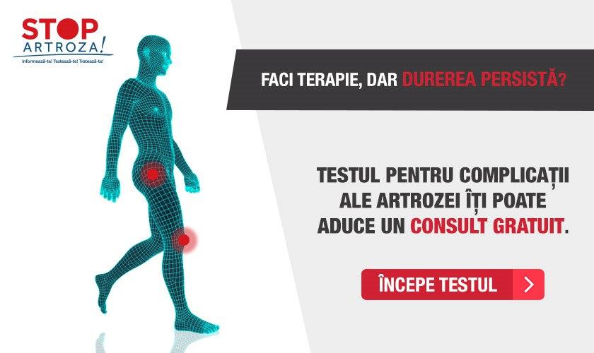 artrită avansată la genunchi
