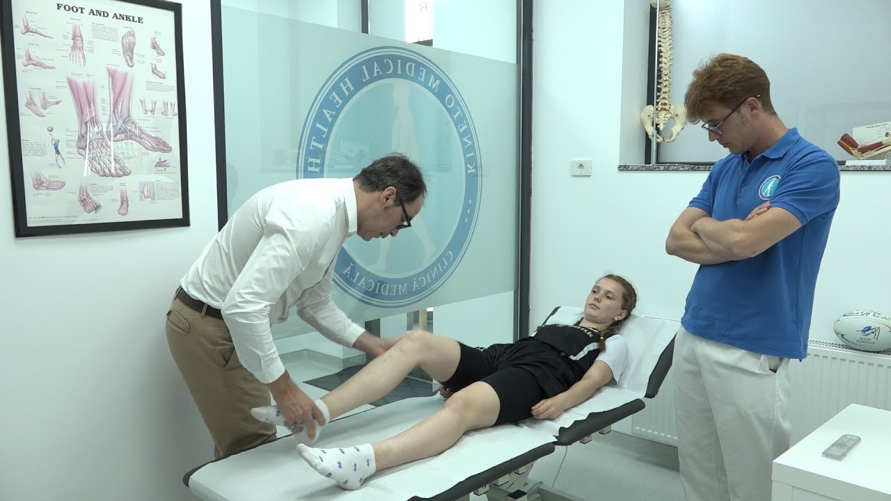 deteriorarea articulației genunchiului și a piciorului inferior cicloferon pentru boala articulară