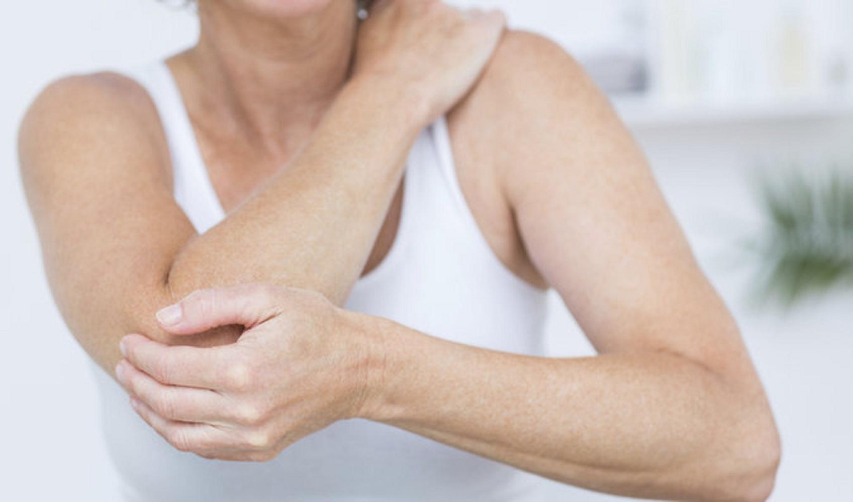 durere în durerea articulației cotului mâinii stângi