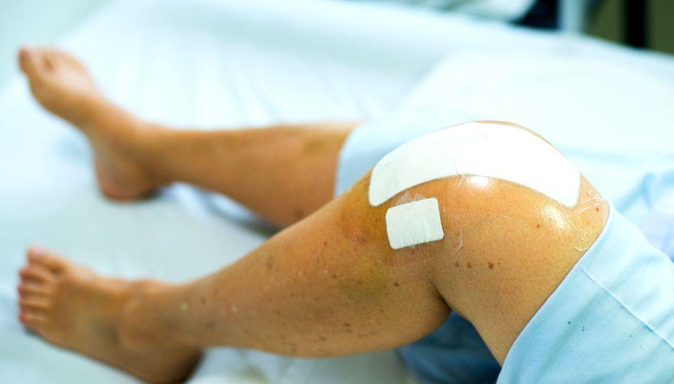 dureri de genunchi după operație