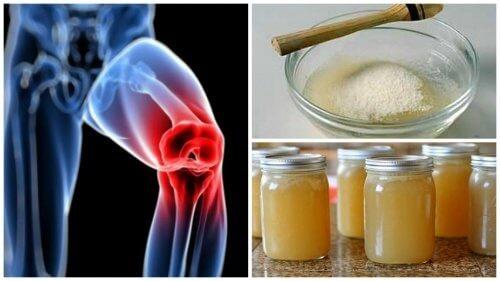 luând gelatină pentru dureri articulare